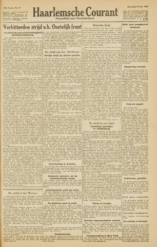 Haarlemsche Courant 1945-01-29