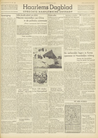 Haarlem's Dagblad 1951-01-23