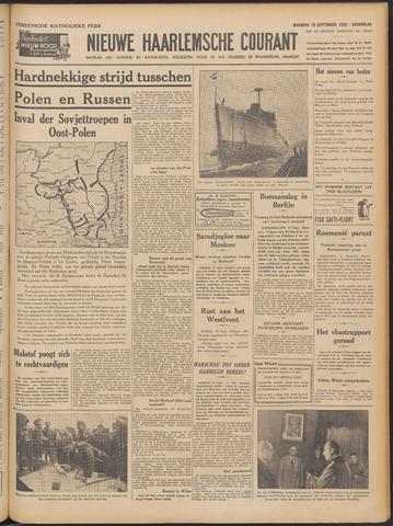 Nieuwe Haarlemsche Courant 1939-09-18