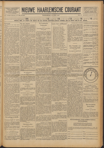 Nieuwe Haarlemsche Courant 1931-07-22