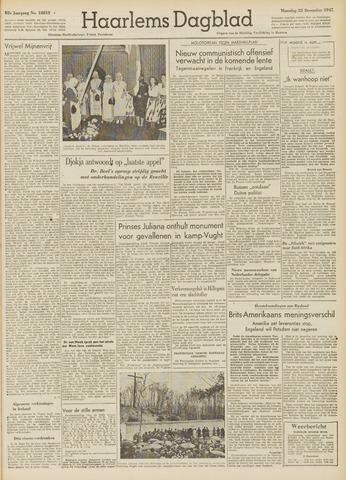 Haarlem's Dagblad 1947-12-22