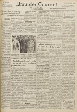 IJmuider Courant 1948-10-11