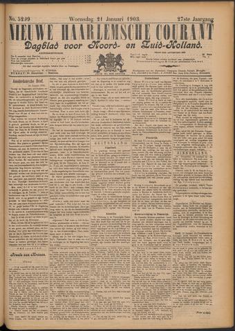 Nieuwe Haarlemsche Courant 1903-01-21