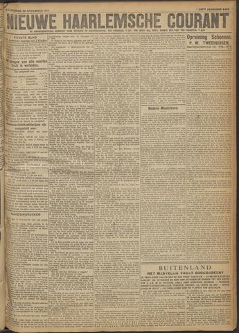 Nieuwe Haarlemsche Courant 1917-11-22