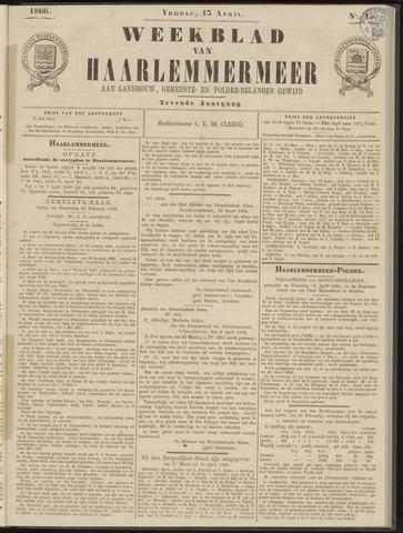 Weekblad van Haarlemmermeer 1866-04-13