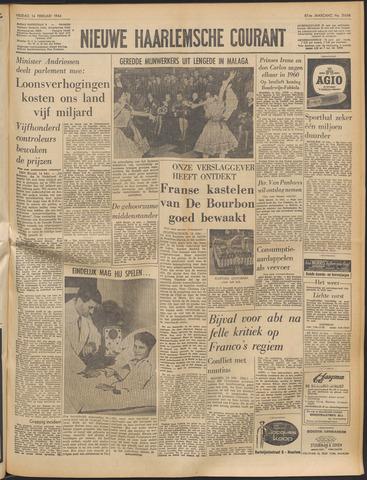 Nieuwe Haarlemsche Courant 1964-02-14