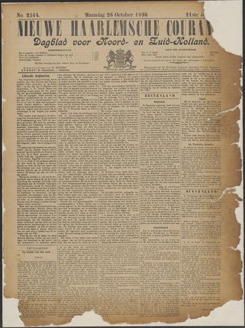 Nieuwe Haarlemsche Courant 1896-10-26