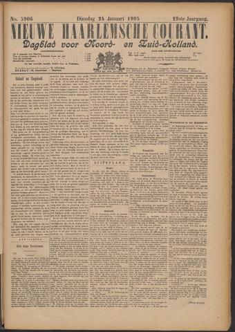 Nieuwe Haarlemsche Courant 1905-01-24
