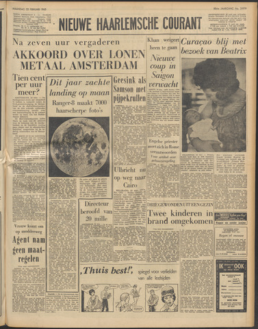 Nieuwe Haarlemsche Courant 1965-02-22