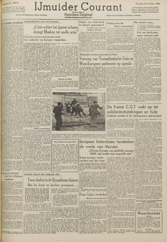 IJmuider Courant 1948-10-25
