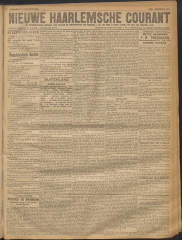 Nieuwe Haarlemsche Courant 1918-08-12