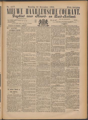 Nieuwe Haarlemsche Courant 1903-12-21