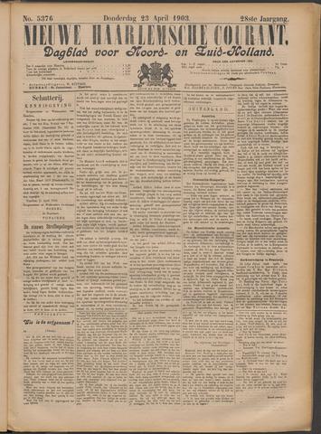 Nieuwe Haarlemsche Courant 1903-04-23