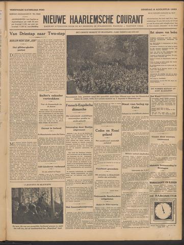 Nieuwe Haarlemsche Courant 1933-08-08
