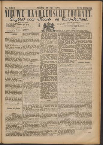 Nieuwe Haarlemsche Courant 1905-07-21
