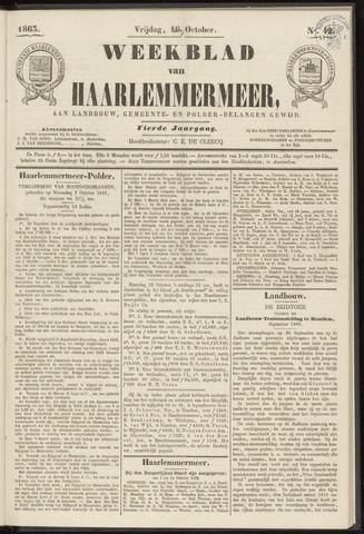 Weekblad van Haarlemmermeer 1863-10-16