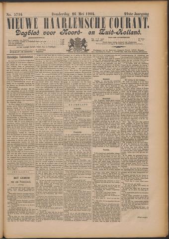Nieuwe Haarlemsche Courant 1904-05-26