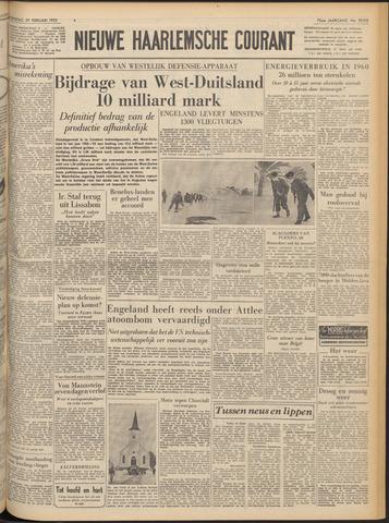 Nieuwe Haarlemsche Courant 1952-02-27