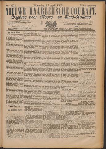 Nieuwe Haarlemsche Courant 1905-04-12