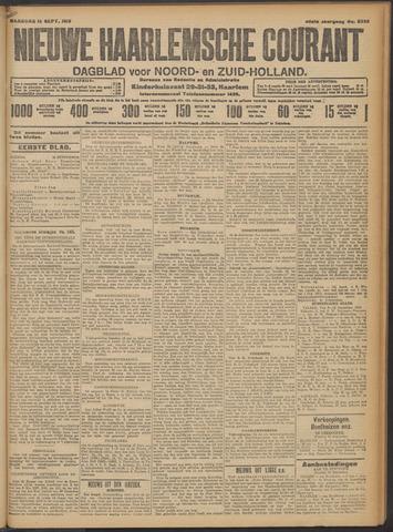 Nieuwe Haarlemsche Courant 1913-09-15