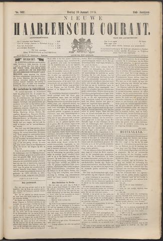 Nieuwe Haarlemsche Courant 1885-01-18