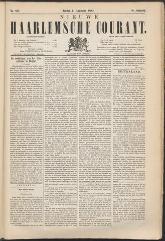 Nieuwe Haarlemsche Courant 1884-08-31