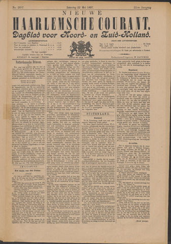 Nieuwe Haarlemsche Courant 1897-05-22