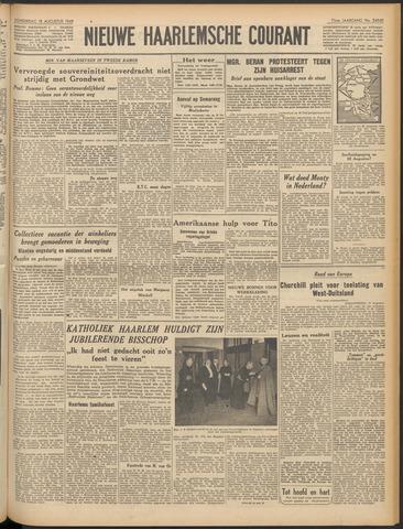 Nieuwe Haarlemsche Courant 1949-08-18