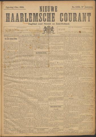 Nieuwe Haarlemsche Courant 1906-12-01