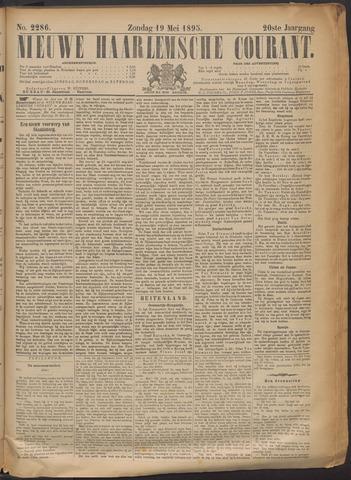 Nieuwe Haarlemsche Courant 1895-05-19