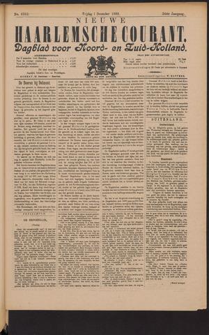 Nieuwe Haarlemsche Courant 1899-12-01