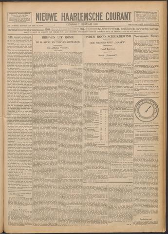 Nieuwe Haarlemsche Courant 1928-02-07