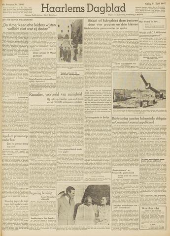 Haarlem's Dagblad 1947-04-11