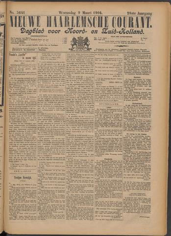 Nieuwe Haarlemsche Courant 1904-03-09