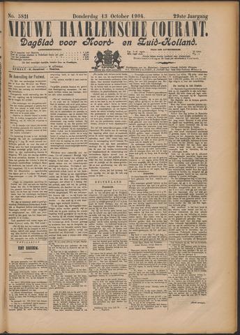 Nieuwe Haarlemsche Courant 1904-10-13