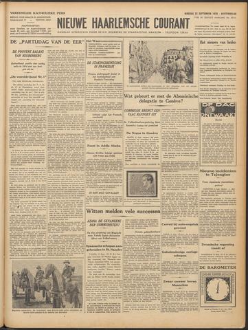 Nieuwe Haarlemsche Courant 1936-09-22