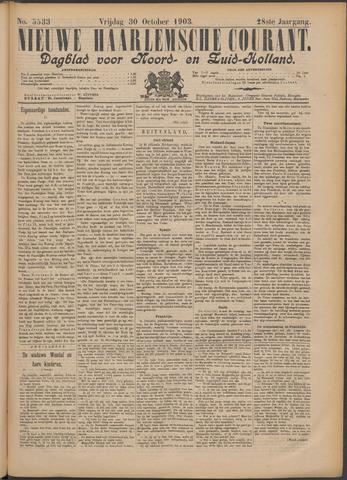 Nieuwe Haarlemsche Courant 1903-10-30