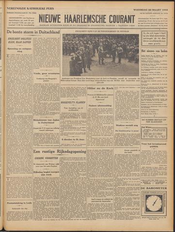 Nieuwe Haarlemsche Courant 1933-03-22