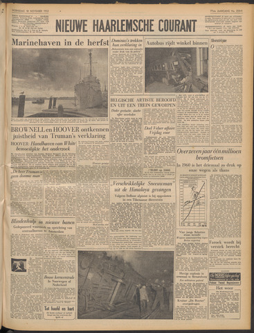 Nieuwe Haarlemsche Courant 1953-11-18