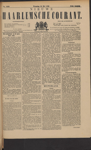 Nieuwe Haarlemsche Courant 1896-05-20