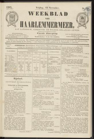 Weekblad van Haarlemmermeer 1863-11-13