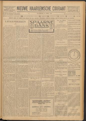 Nieuwe Haarlemsche Courant 1930-04-26