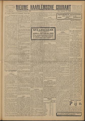 Nieuwe Haarlemsche Courant 1924-02-13