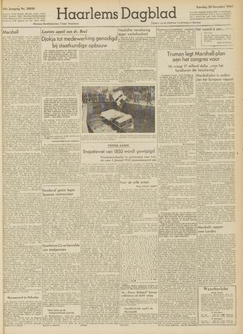 Haarlem's Dagblad 1947-12-20