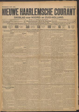 Nieuwe Haarlemsche Courant 1909-10-07