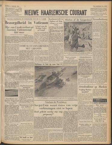 Nieuwe Haarlemsche Courant 1954-02-06