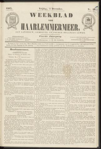 Weekblad van Haarlemmermeer 1863-12-04