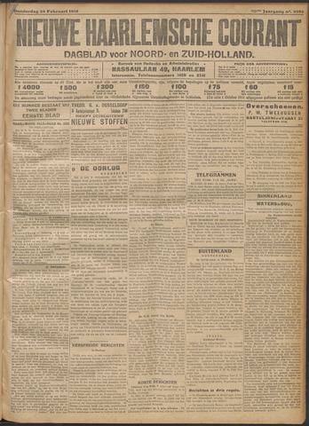 Nieuwe Haarlemsche Courant 1916-02-24