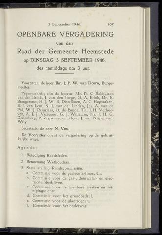 Raadsnotulen Heemstede 1946-09-03