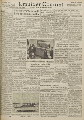 IJmuider Courant 1948-04-30